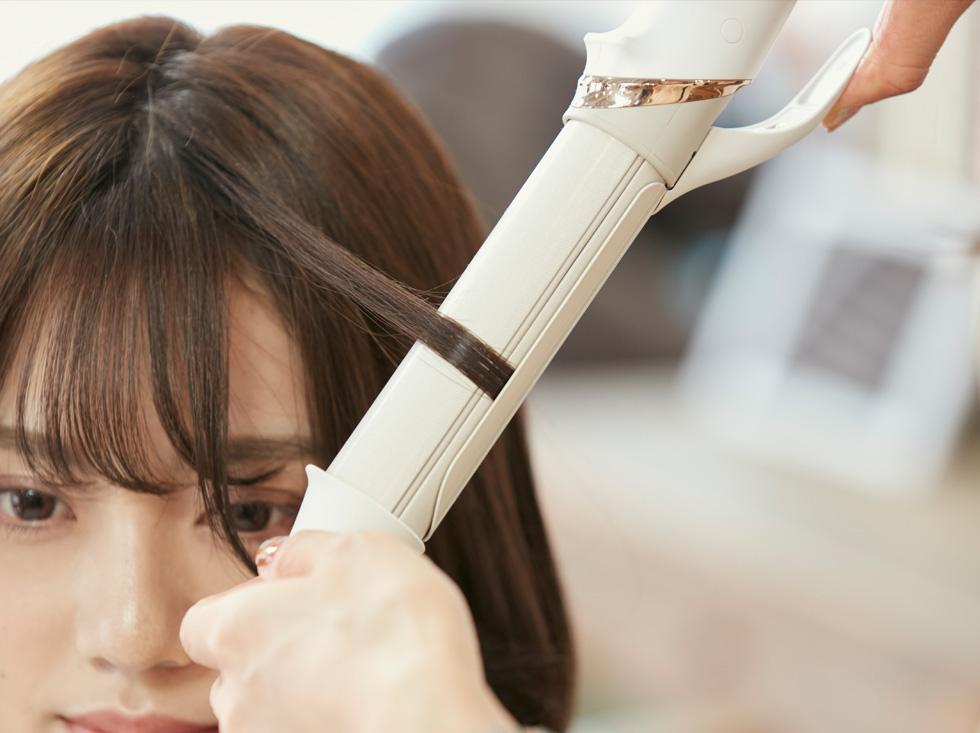 熱ダメージから髪を守る『シルキーモイスト』